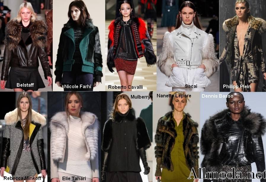 Мода Осень Зима Куртки Шубы
