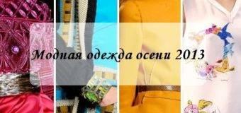 Модная одежда: осень 2017 зима 2017