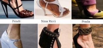 Обувь весна лето 2017