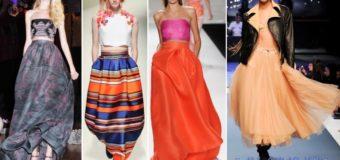 Модные юбки — весна 2017