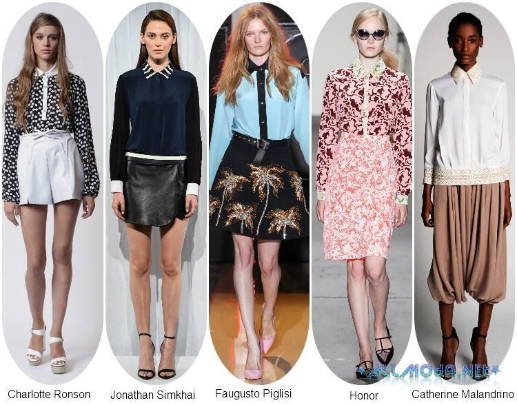 Модные Блузки Лето 2014 В Екатеринбурге
