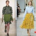 Тренды весна-лето 2017, Неделя моды в Нью-Йорке,