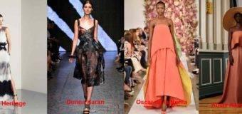 Самые модные платья, весна-лето 2017, Неделя моды Нью-Йорк