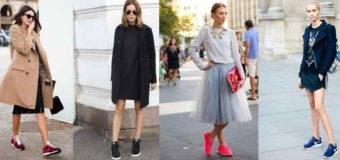 Тренды 2017: с чем носить кроссовки?