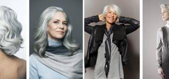 Седые волосы – бьюти-тренд 2017?