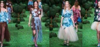 Алена Ахмадуллина коллекция весна-лето 2017