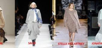 Модные теплые платья или как одеваться, чтобы не замерзнуть?