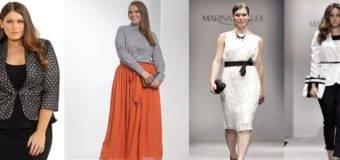 Одежда для полных: тренды 2017