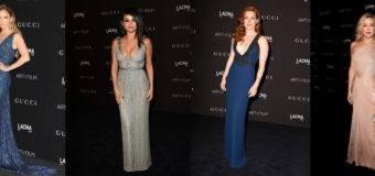 Длинные платья голливудских звезд на гала-вечере в LACMA
