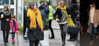 Модные шарфы осень зима 2017 2017