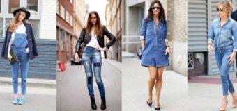 Модные джинсовые вещи весна-лето 2017