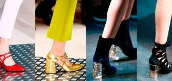 Модная обувь осень/зима 2017 Неделя моды в Милане
