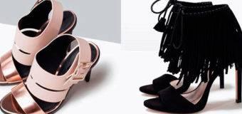 Летняя коллекция обуви Zara 2017