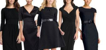 Черный цвет в одежде. Советы. С чем носить и сочетать.